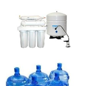 Domestic purifying system comparison with normal water dispenser